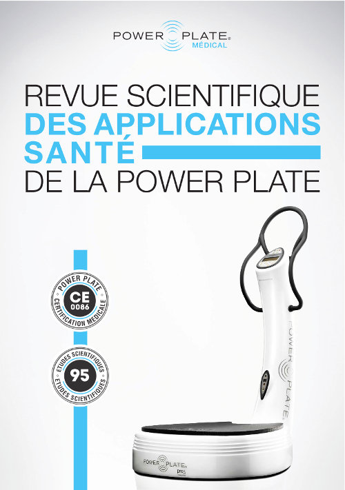 Revue scientifique power plate sur les applications santé