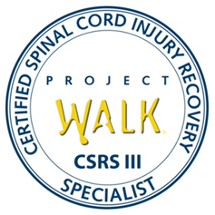 project walk certified spinal cord injury recovery