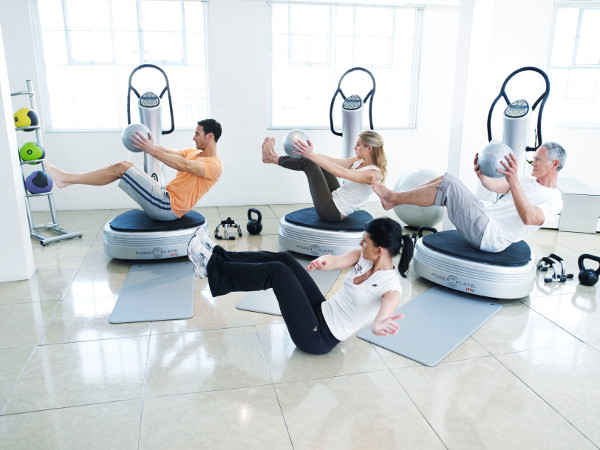 coaching power plate abdos