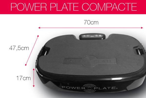 Powerplate compacte personnal mini