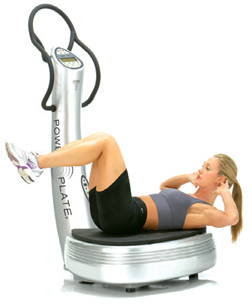 crunch power plate