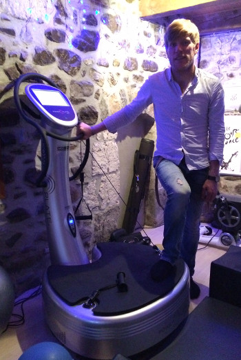 Groupement experts power plate fabien chevalier coach power plate