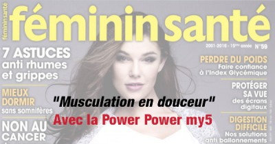 Power Plate my5 dans Féminin Santé. Le magazine ... e4bd0c36476