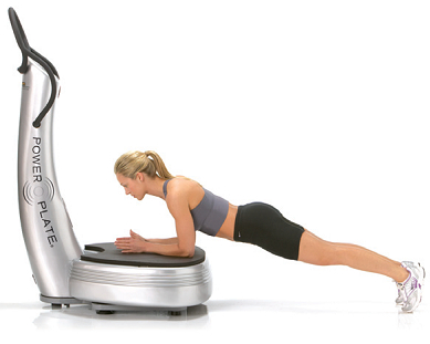 comment faire du gainage sur powerplate