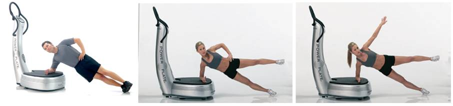 gainage latéral powerplate