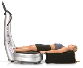 Massage ischios jambiers powerplate