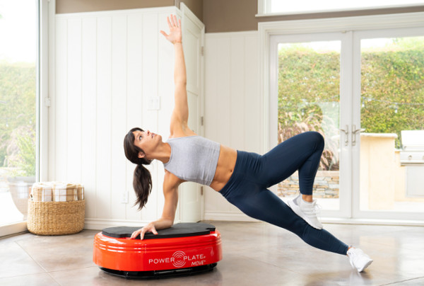 Coaching power plate move