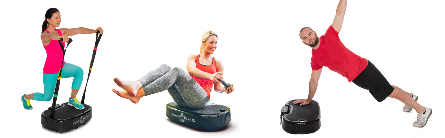 Power Plate mobile exercices positions 2