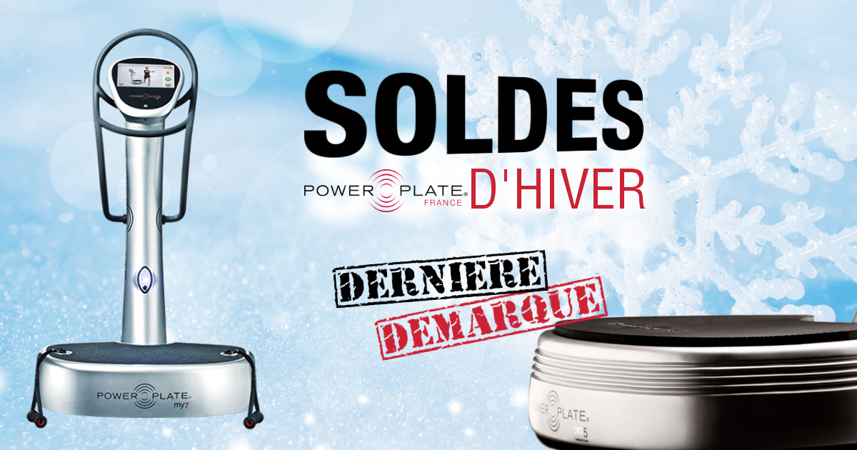 promotions power plate soldes