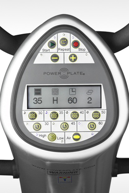 écran power plate pro5 pro5Air